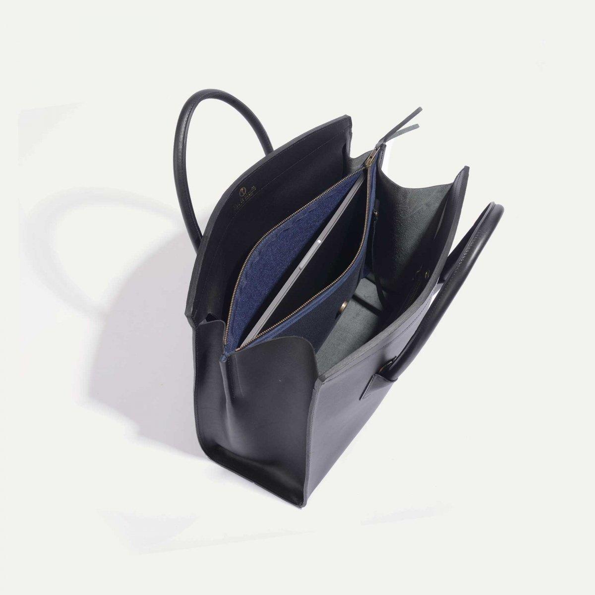 Dalva business Tote - Black (image n°5)