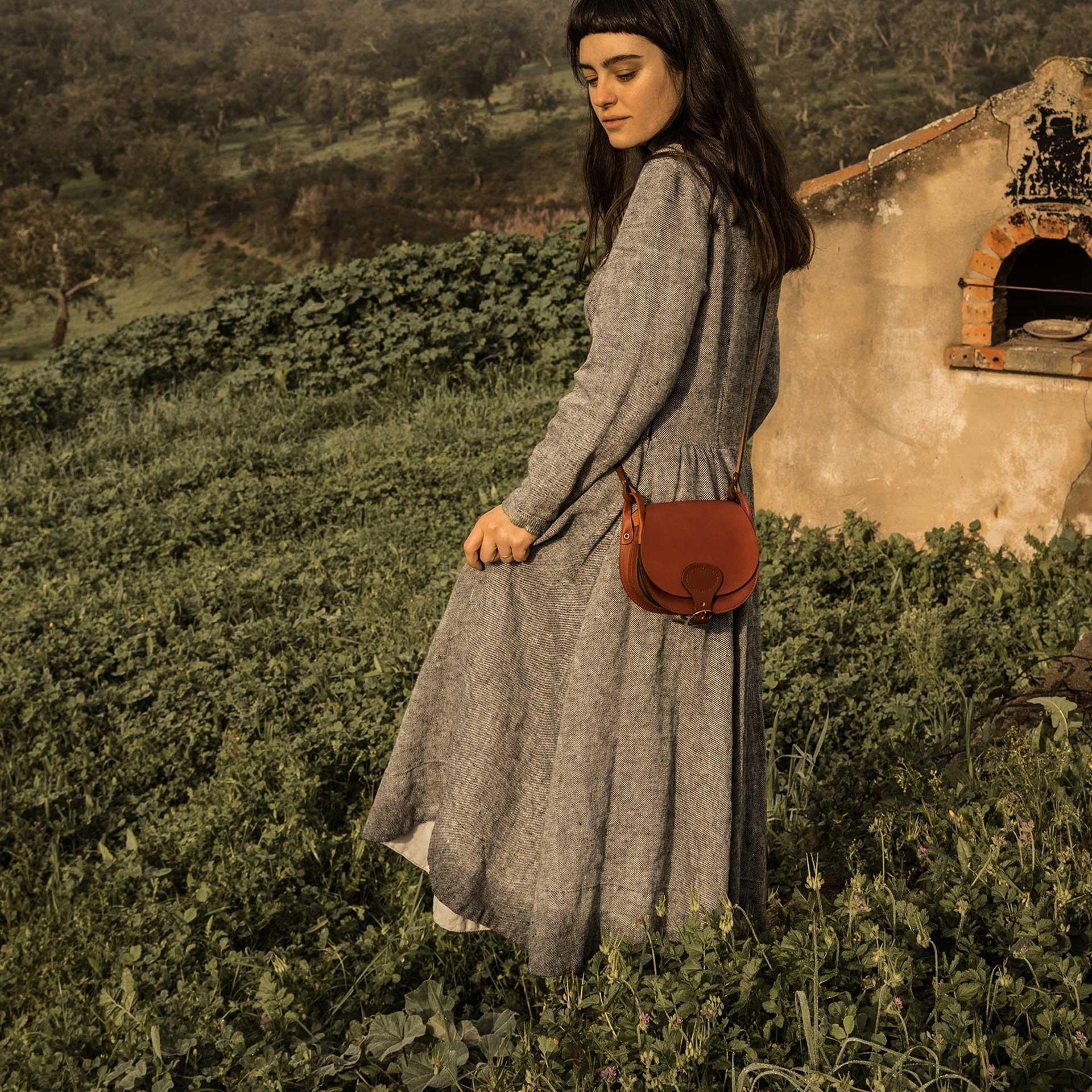 Diane S Gibecière bag - Rust (image n°7)
