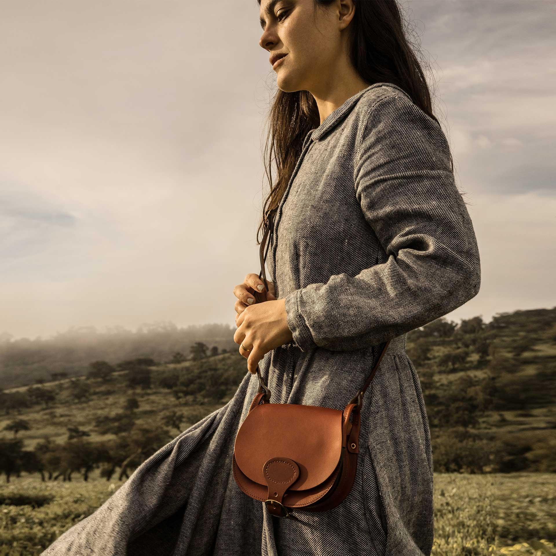 Diane S Gibecière bag - Rust (image n°8)