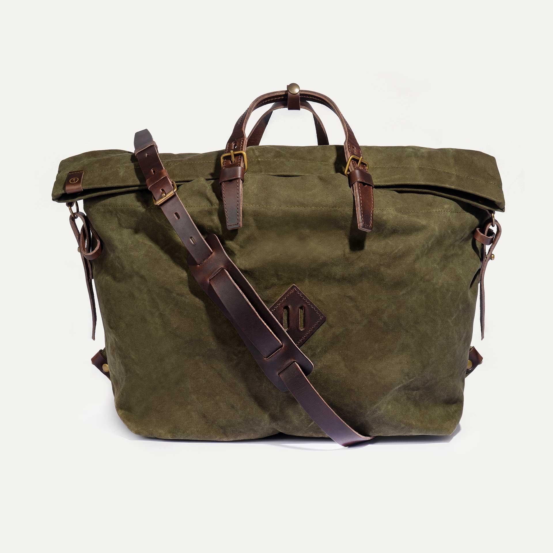Woody L Backpack - Dark Khaki (image n°1)