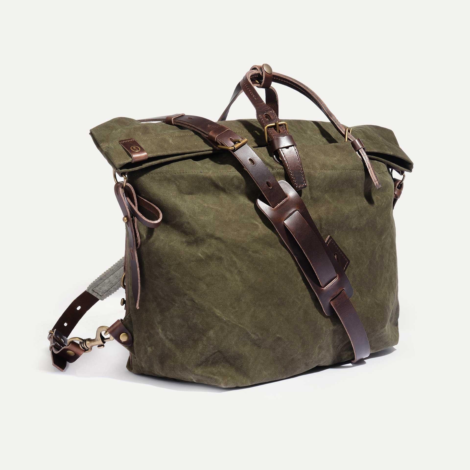Woody L Backpack - Dark Khaki (image n°2)
