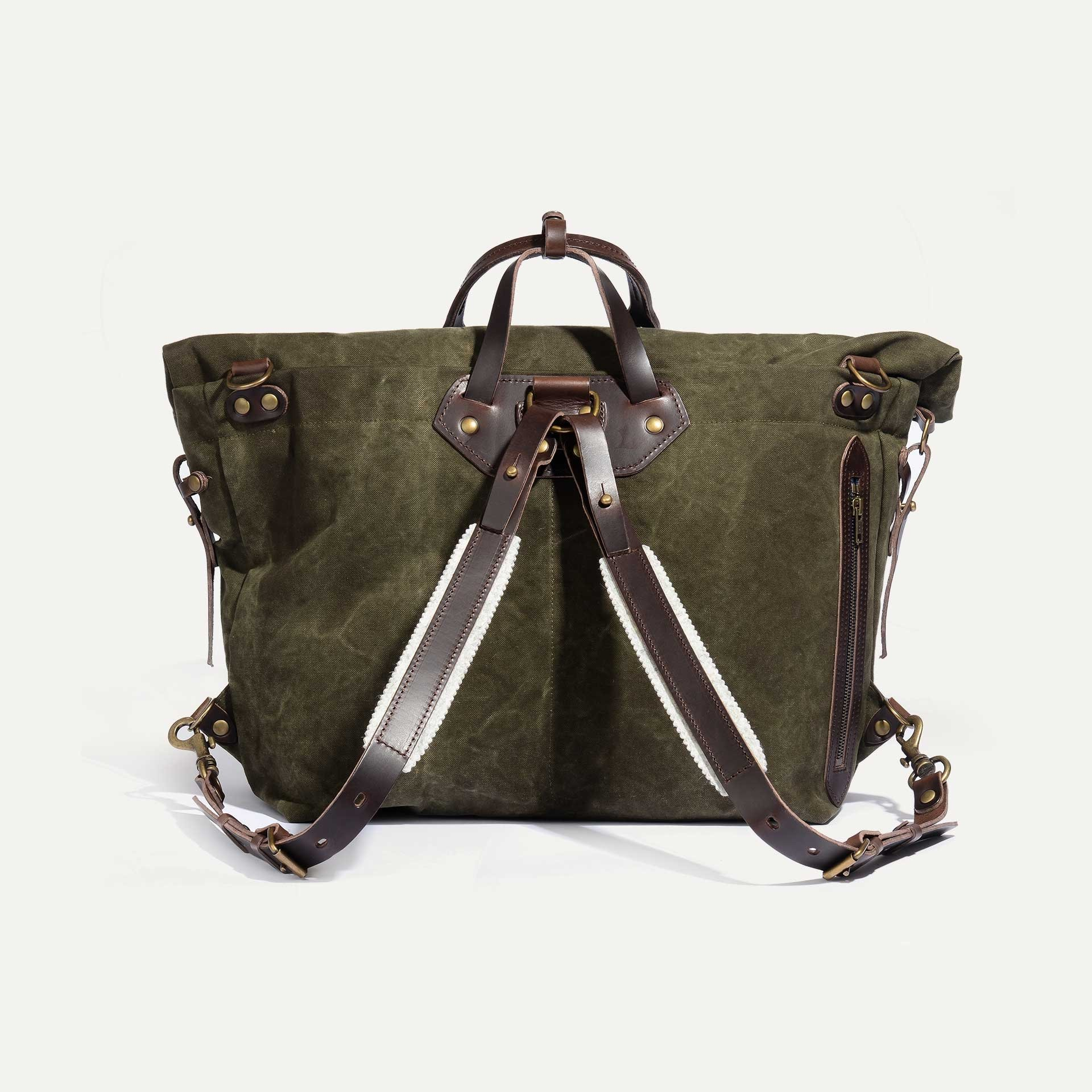 Woody L Backpack - Dark Khaki (image n°3)