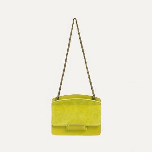 Origami XS clutch bag - Bergamot