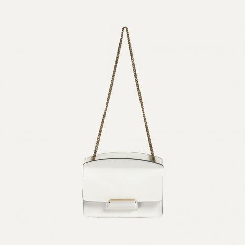 Origami XS clutch bag - White