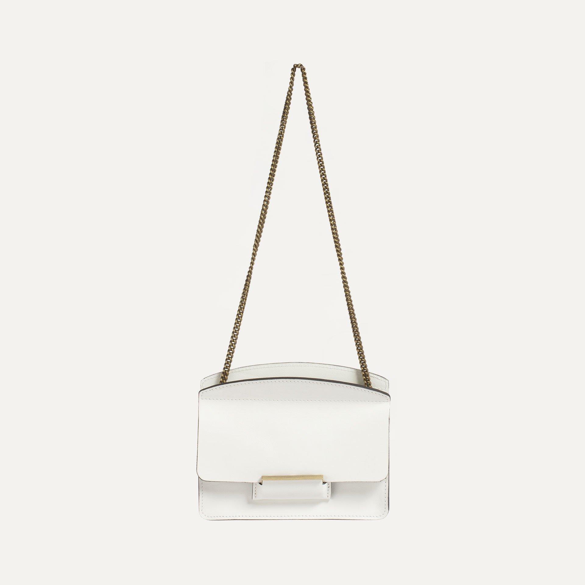 Origami XS clutch bag - White (image n°1)