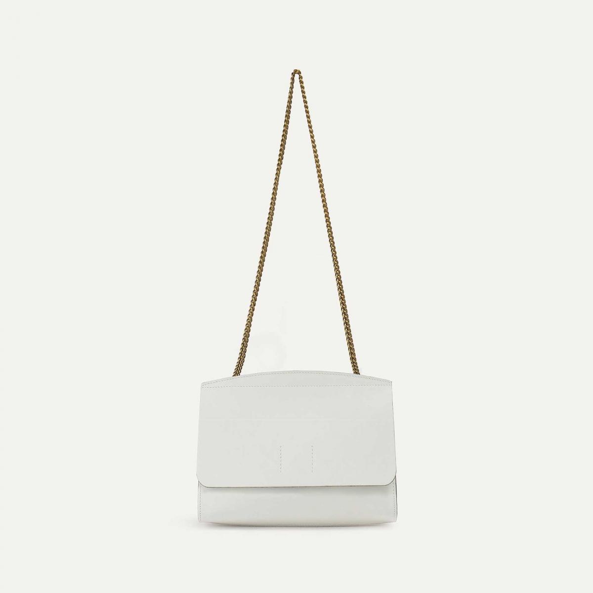 Origami XS clutch bag - White (image n°3)
