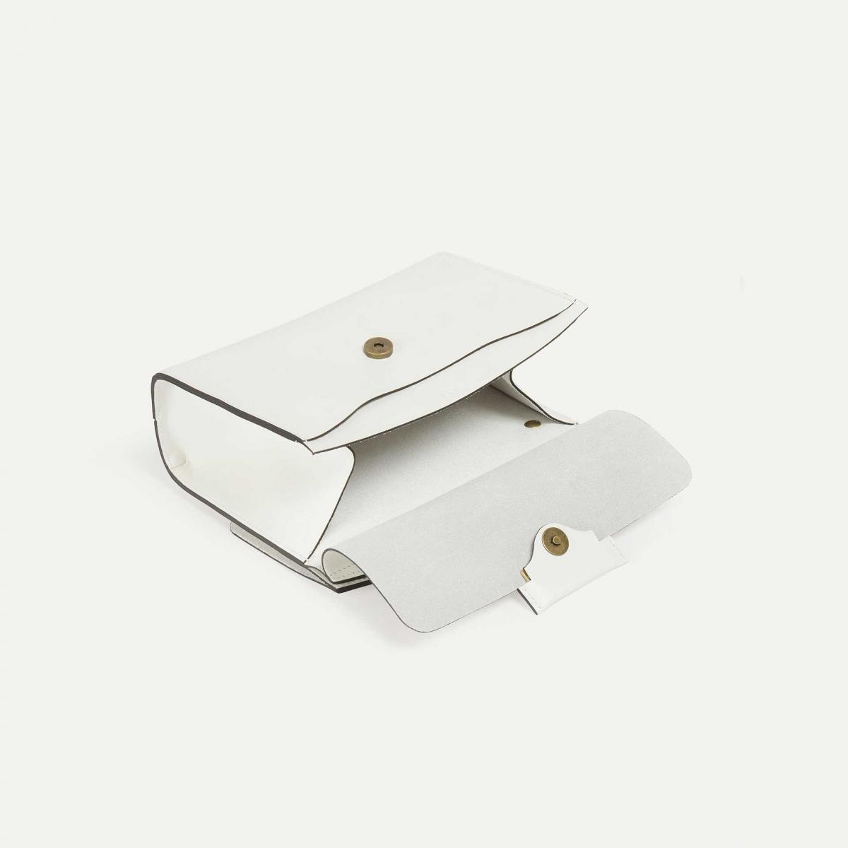 Origami XS clutch bag - White (image n°4)