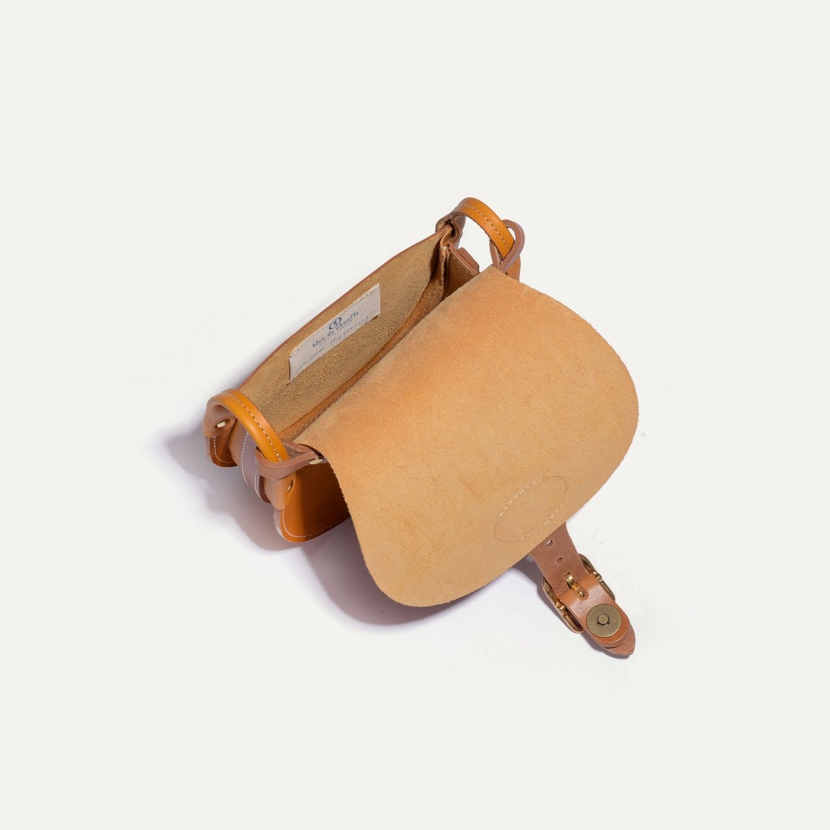 Diane S Gibecière bag - Honey (image n°5)