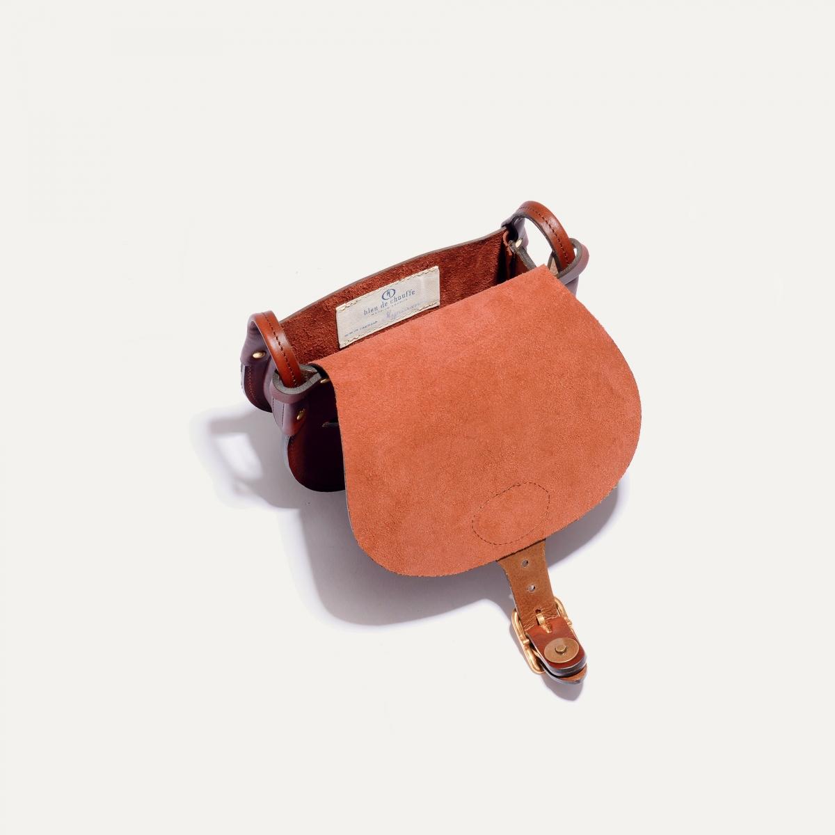 Diane S Gibecière bag - Rust (image n°5)