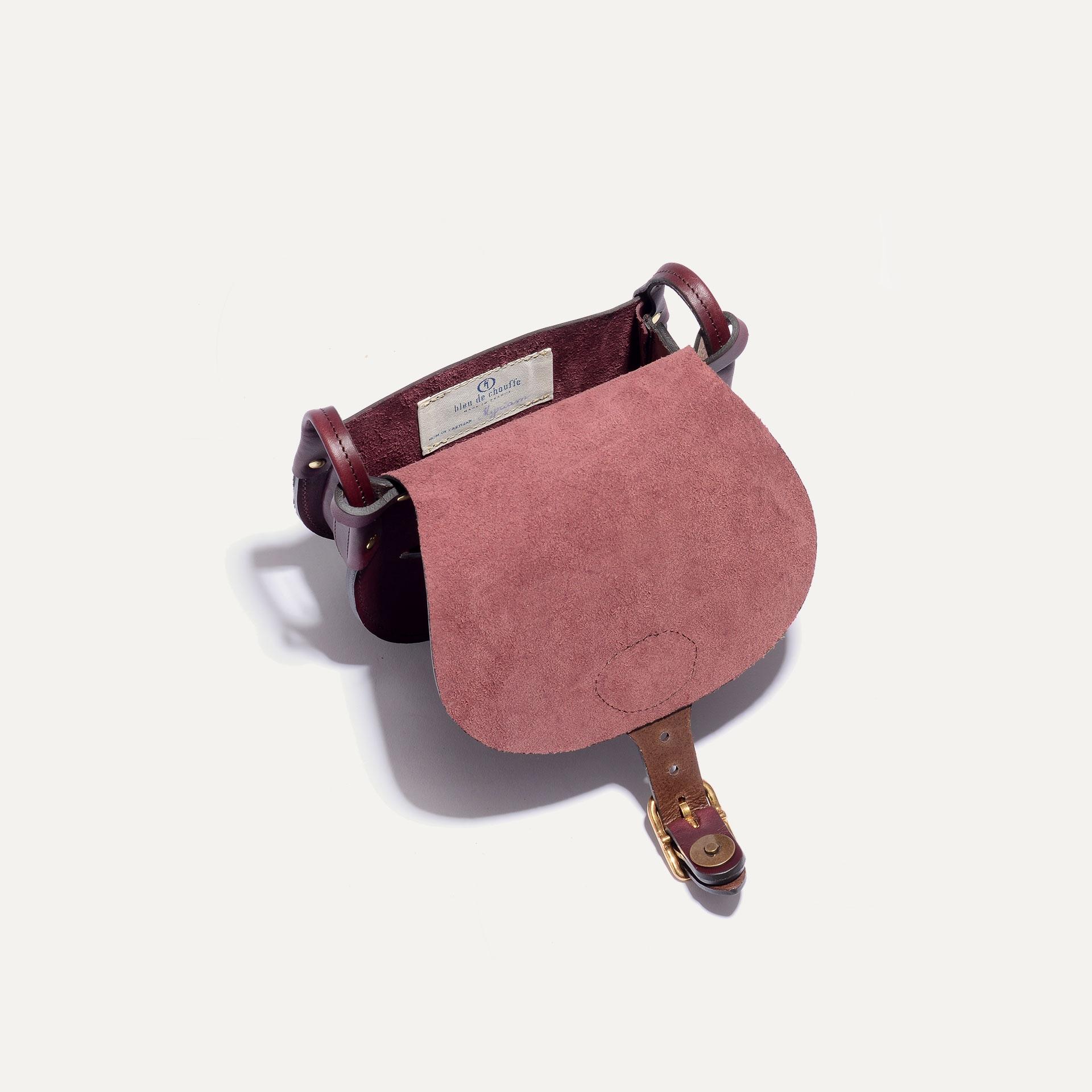 Diane S Gibecière bag - Peat (image n°5)