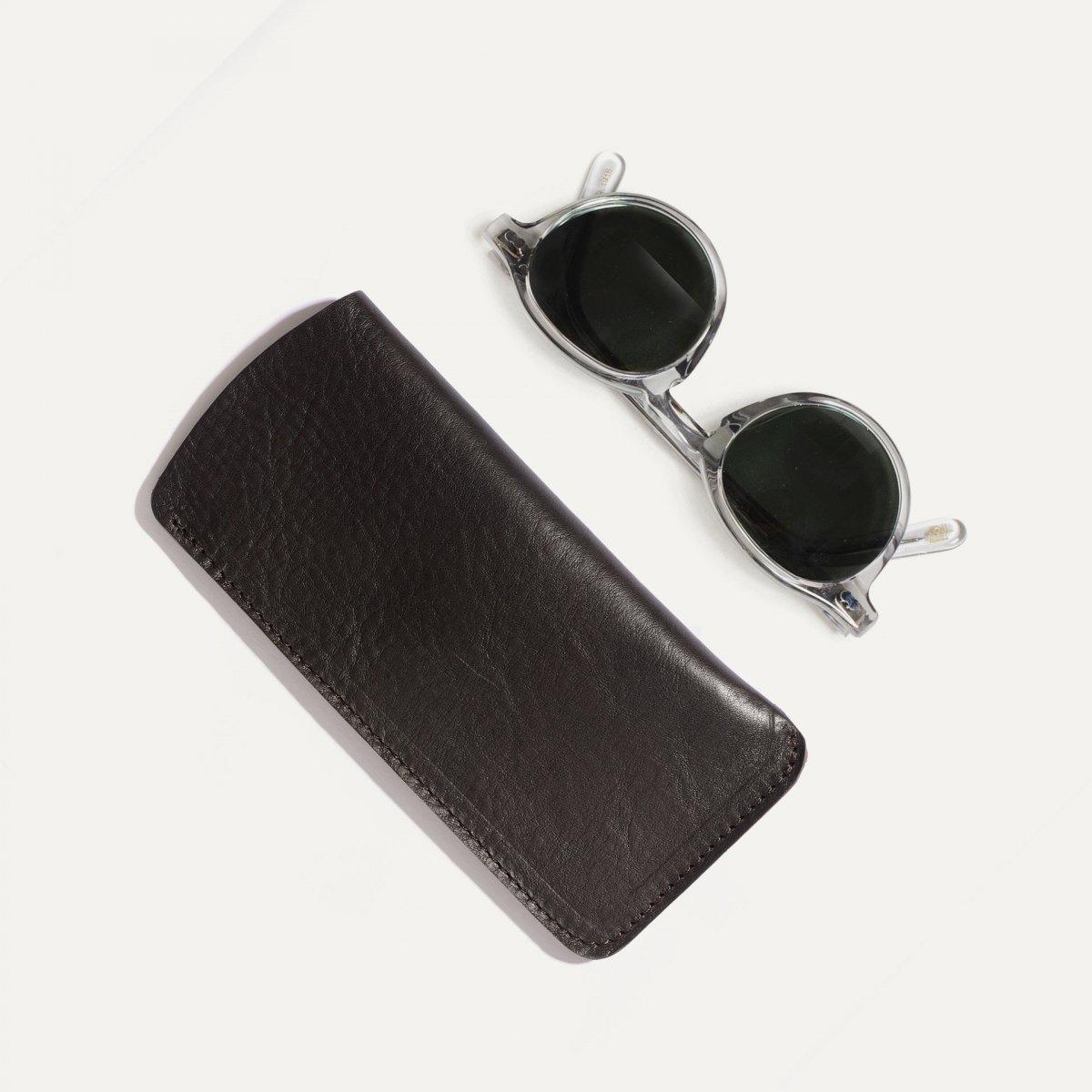 Binocle glasses case - Dark brown (image n°3)