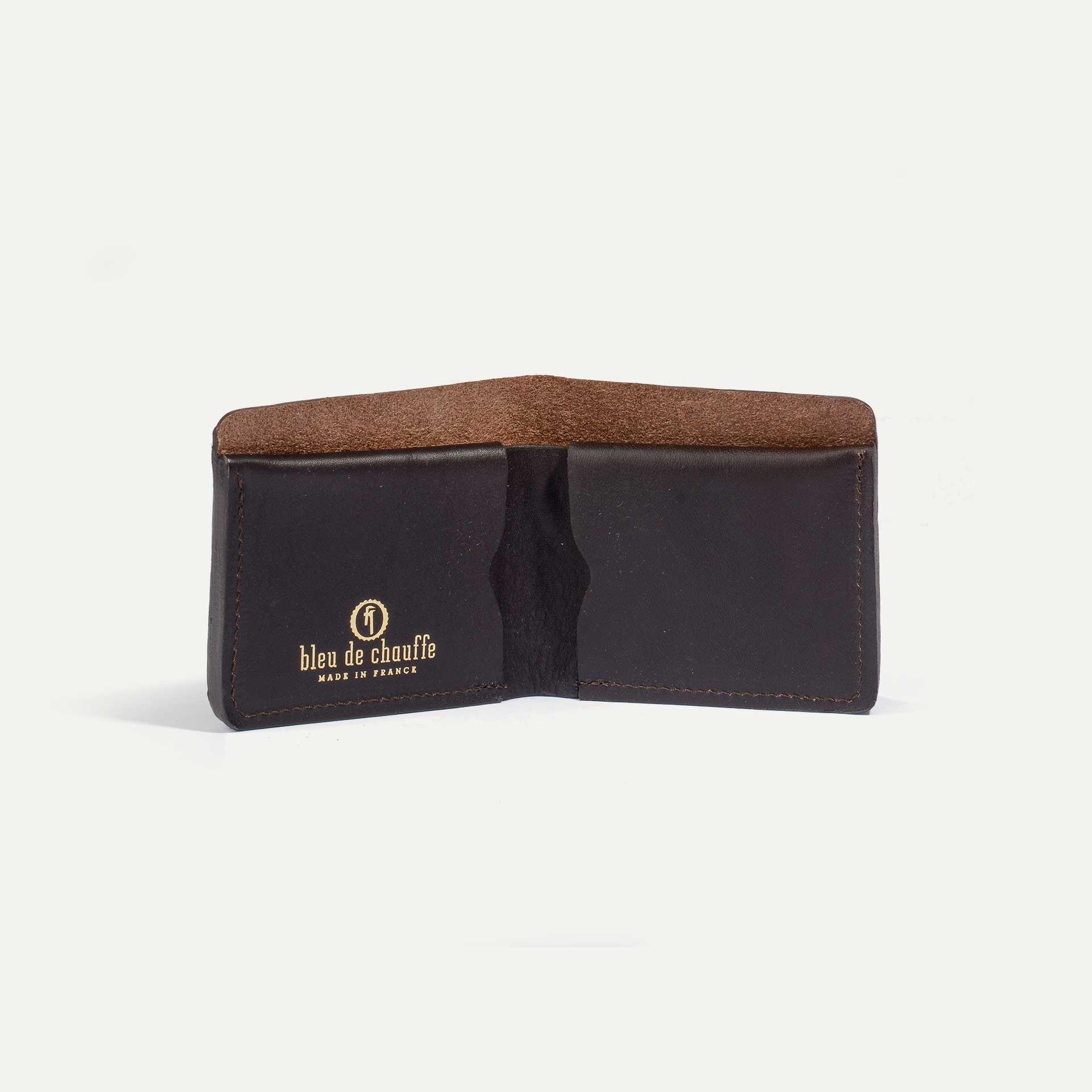 PEZE wallet - Dark Brown (image n°1)