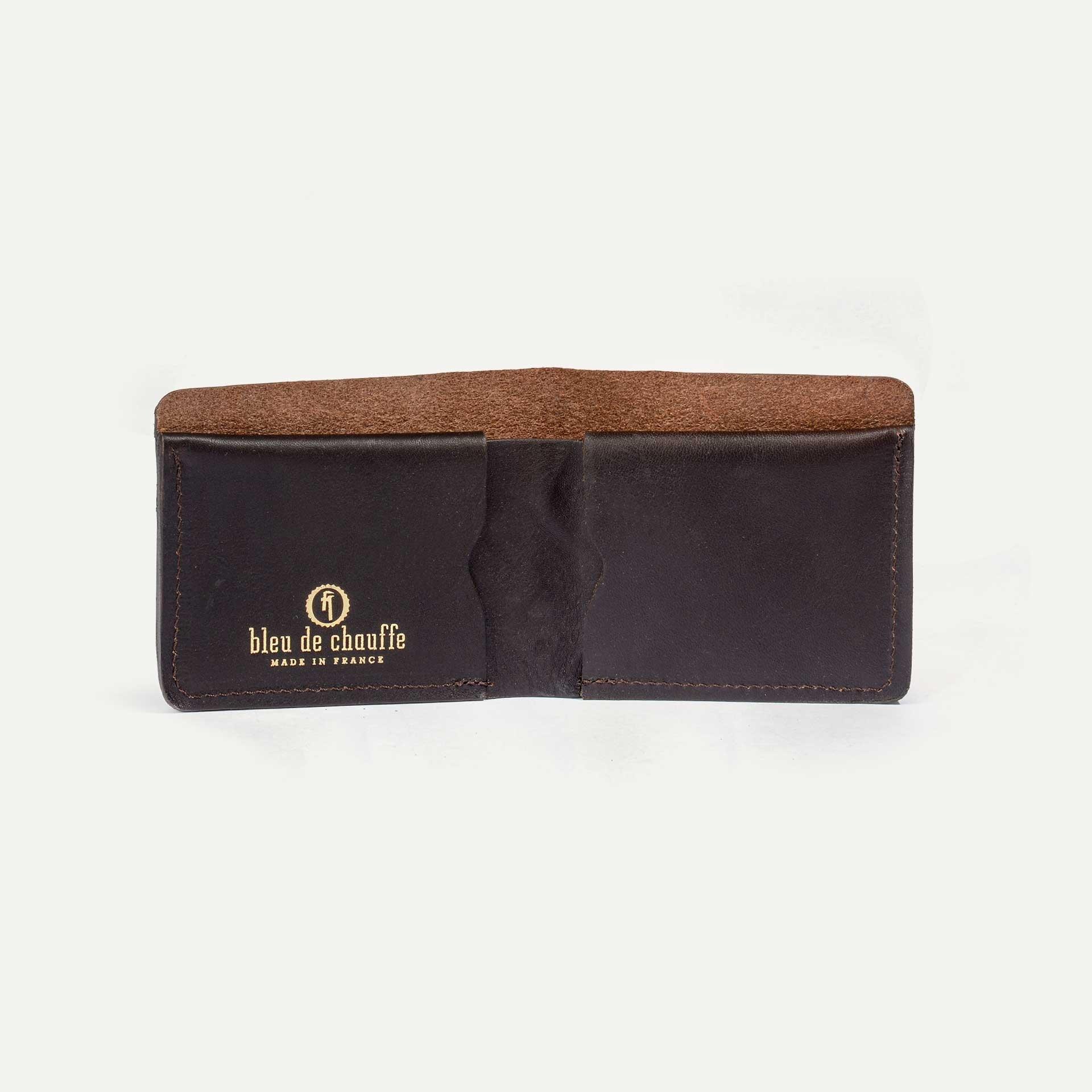 PEZE wallet - Dark Brown (image n°2)
