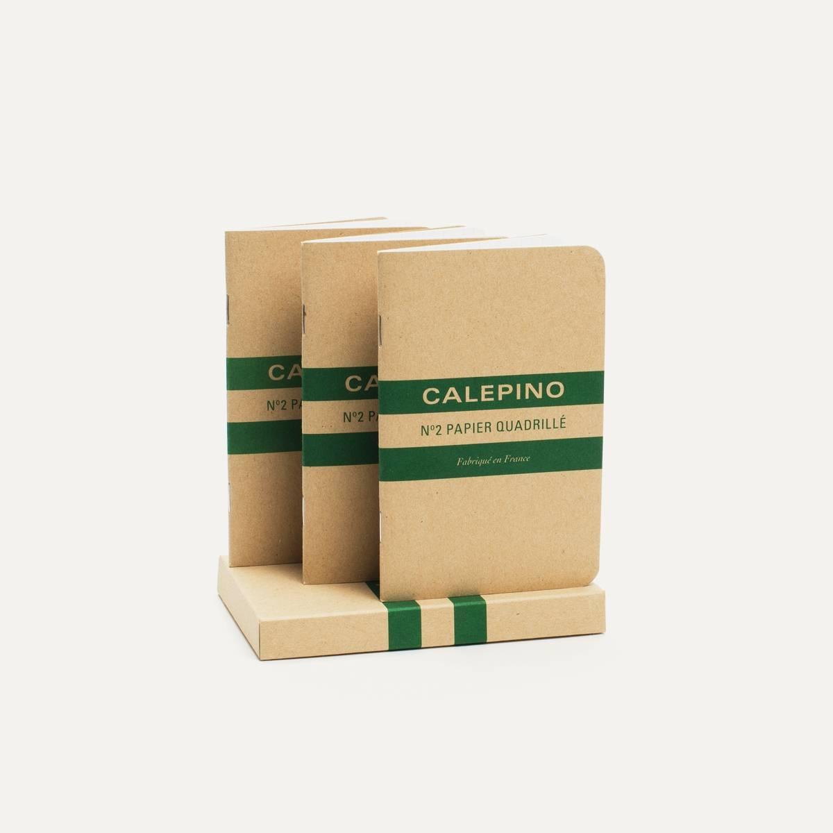 Carnet - N°2 Papier Quadrillé (image n°1)