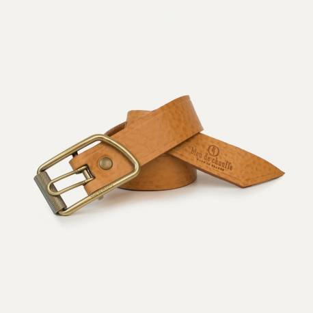 Maillon Belt - Natural Grained