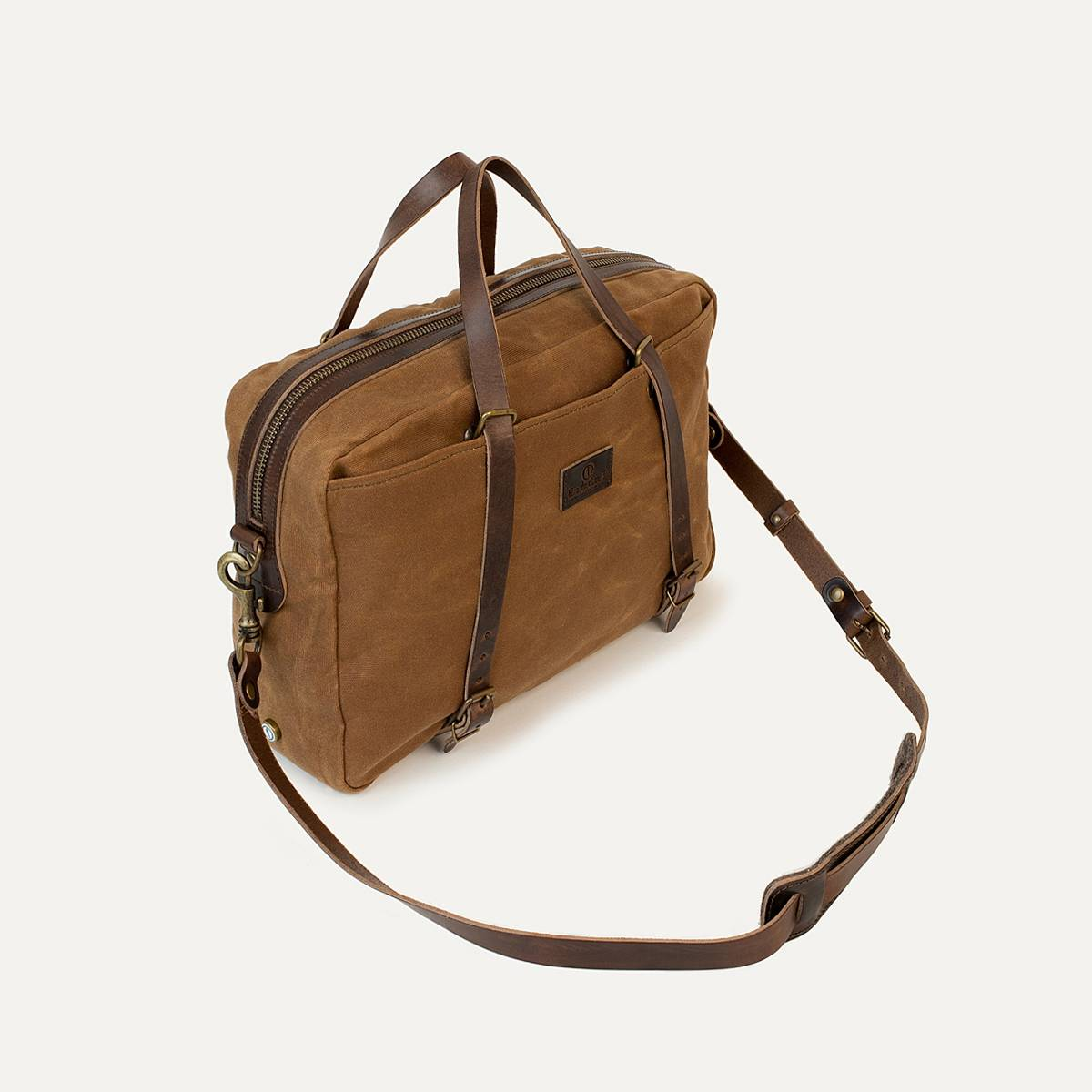 Business bag Report WAXY - Camel (image n°3)
