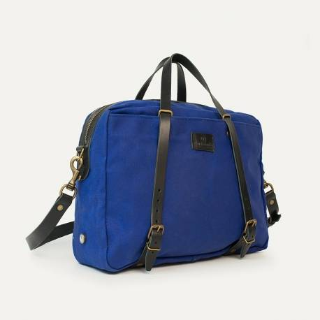 Business bag Report WAXY - Blue