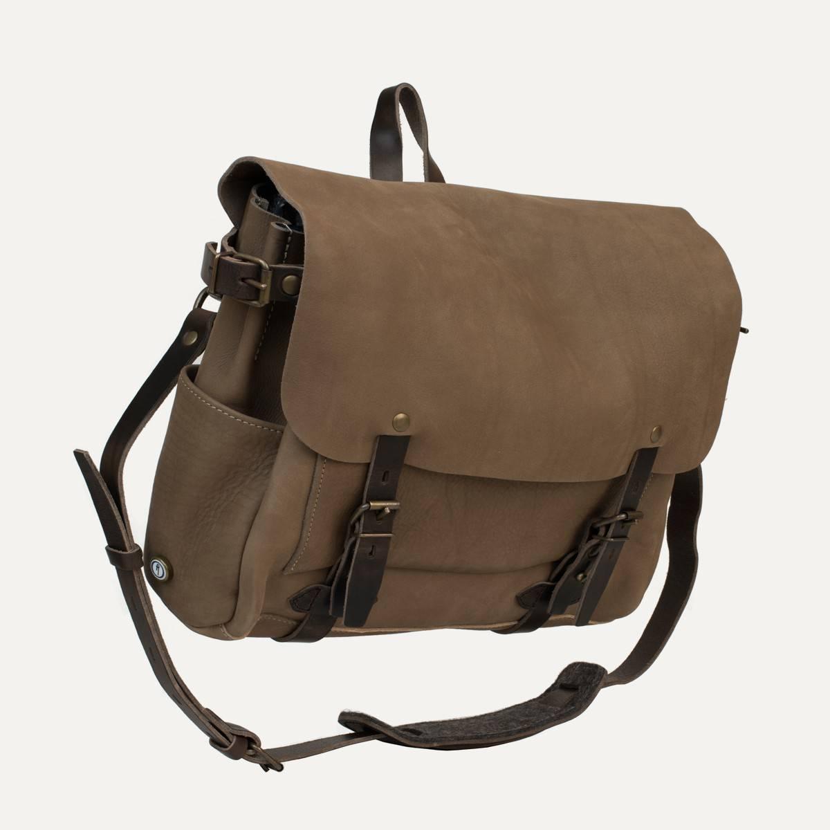 Postman bag Eclair - Taupe (image n°2)