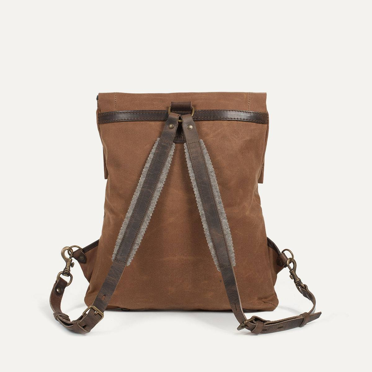 Coursier backpack WAXY - Camel/Brown (image n°5)