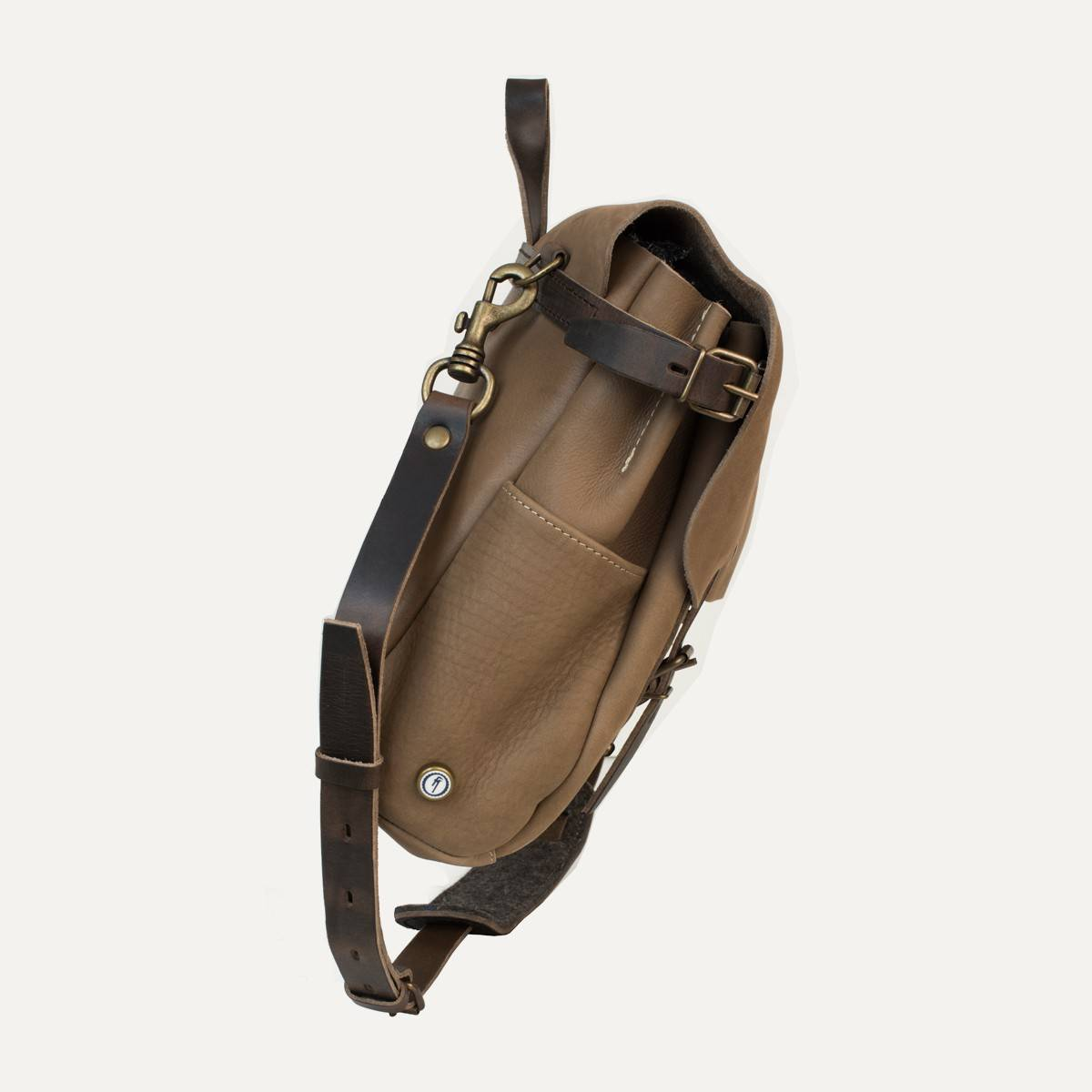 Postman bag Eclair - Taupe (image n°3)