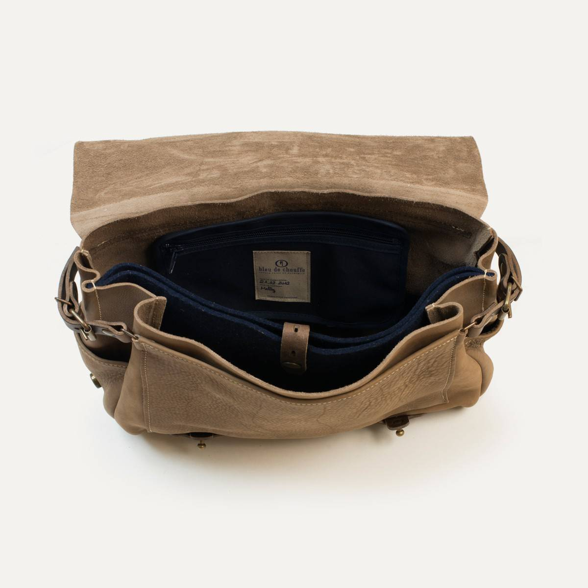 Postman bag Eclair - Taupe (image n°5)