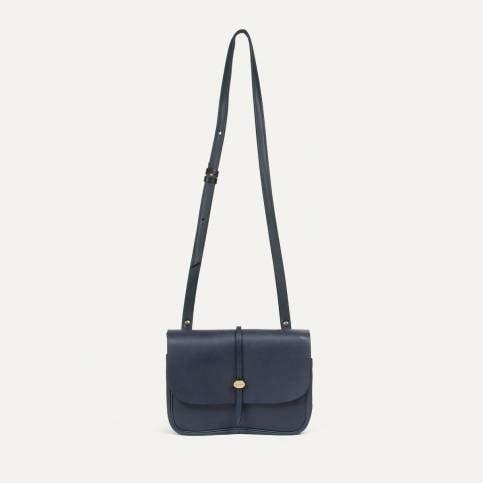 Mini Postman bag Pastel L - Navy Blue