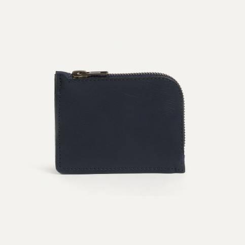 As zipped purse - Navy Blue / Bleu de Chauffe x Le Mont Saint Michel