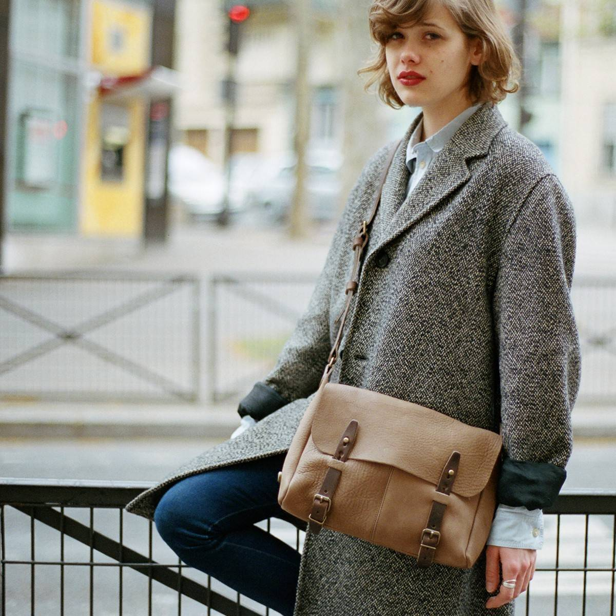 Forester bag Janis - Taupe (image n°4)