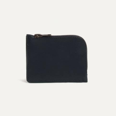 As zipped purse - BLACK / Bleu de Chauffe x Le Mont Saint Michel