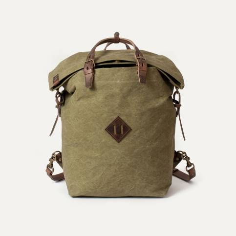 Woody Backpack - Khaki stonewashed