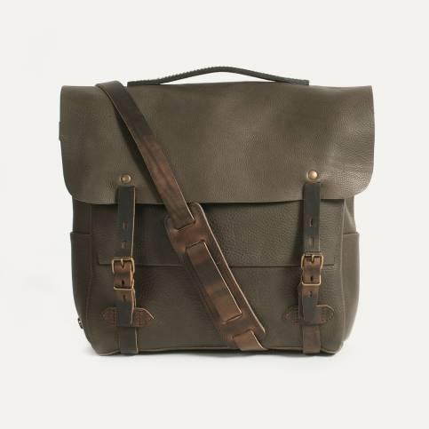 Postman bag Eclair L - Smog