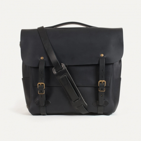 Postman bag Eclair L - Black
