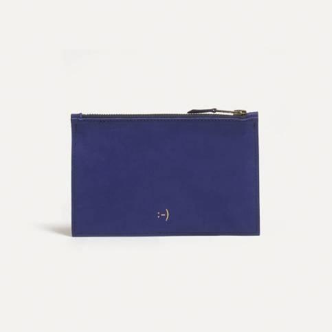 Trousse cuir COSMO S - bleu
