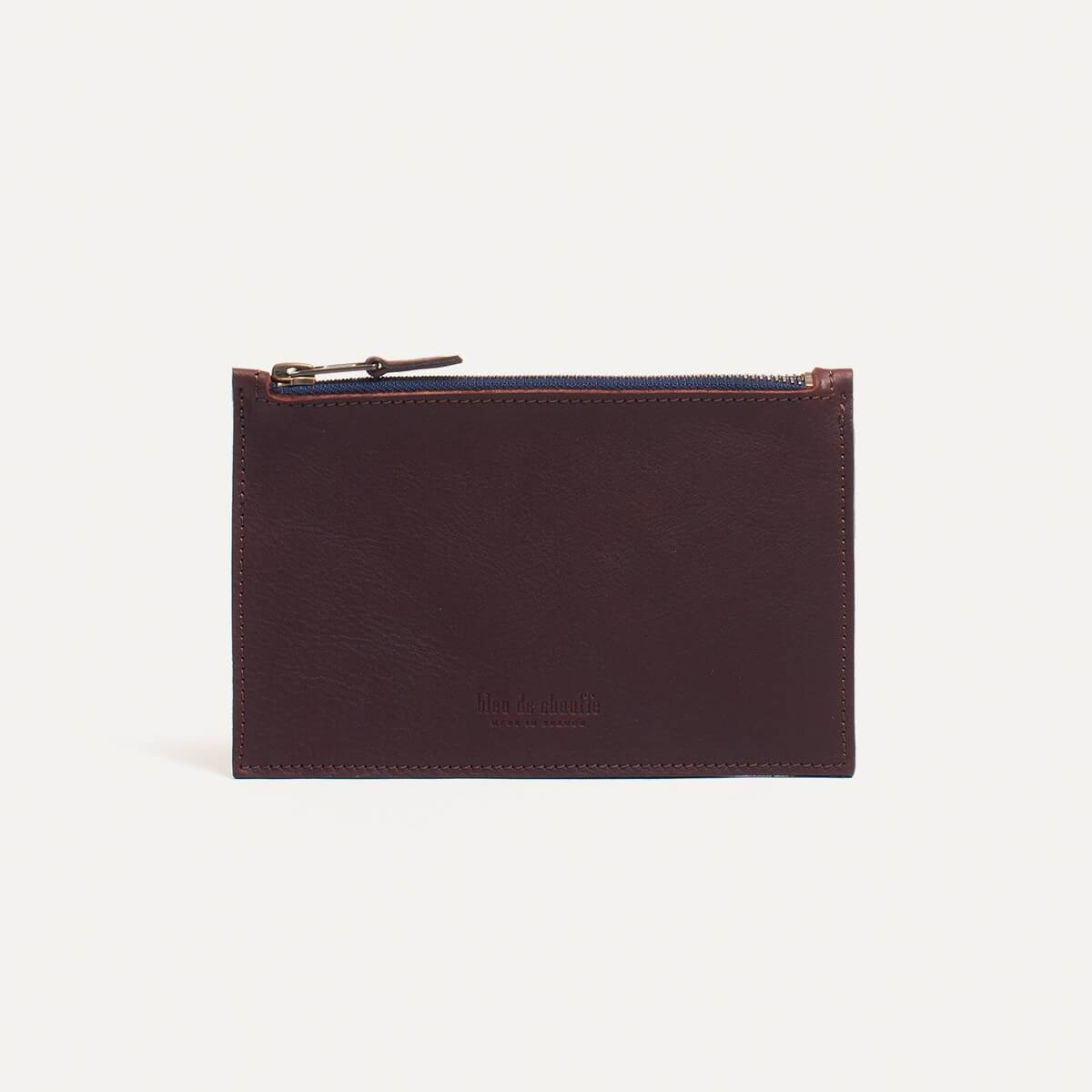 Leather Pouch COSMO S - Peat (image n°2)