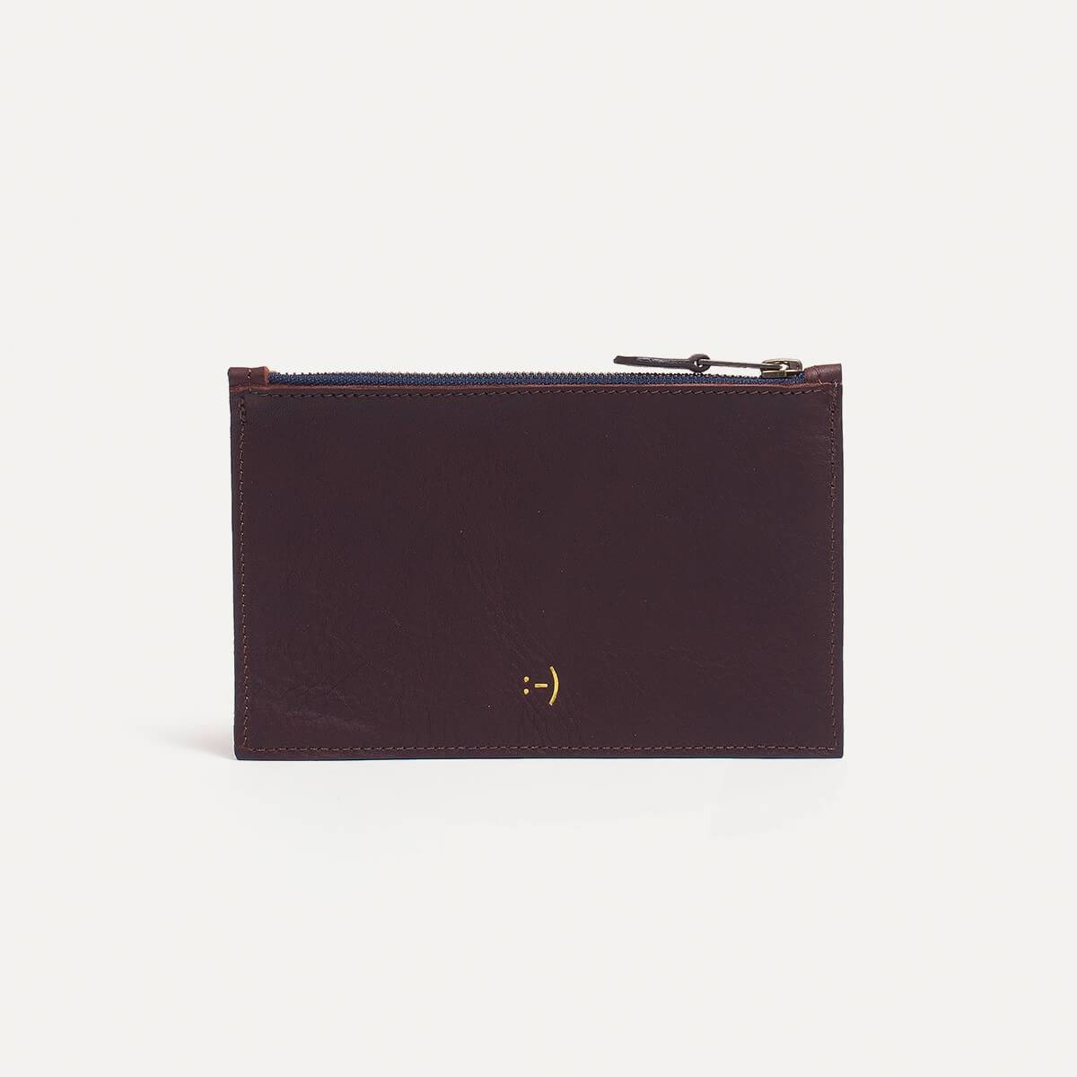 Leather Pouch COSMO S - Peat (image n°1)