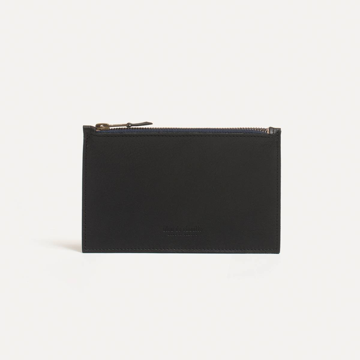 Leather Pouch COSMO S - Black (image n°2)