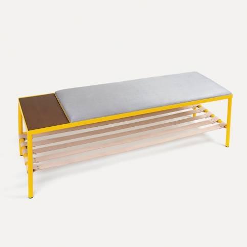 BDC x KANN Design Yellow bench