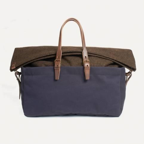 Cabine Travel bag - Navy Blue / Tweed