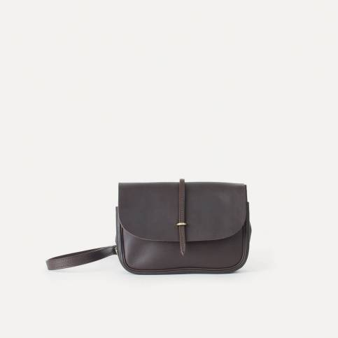 Mini Postman bag Pastel - Expresso