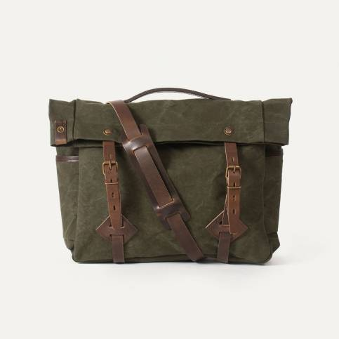 "Gaston tool bag – ""Musette"" - Dark Khaki"