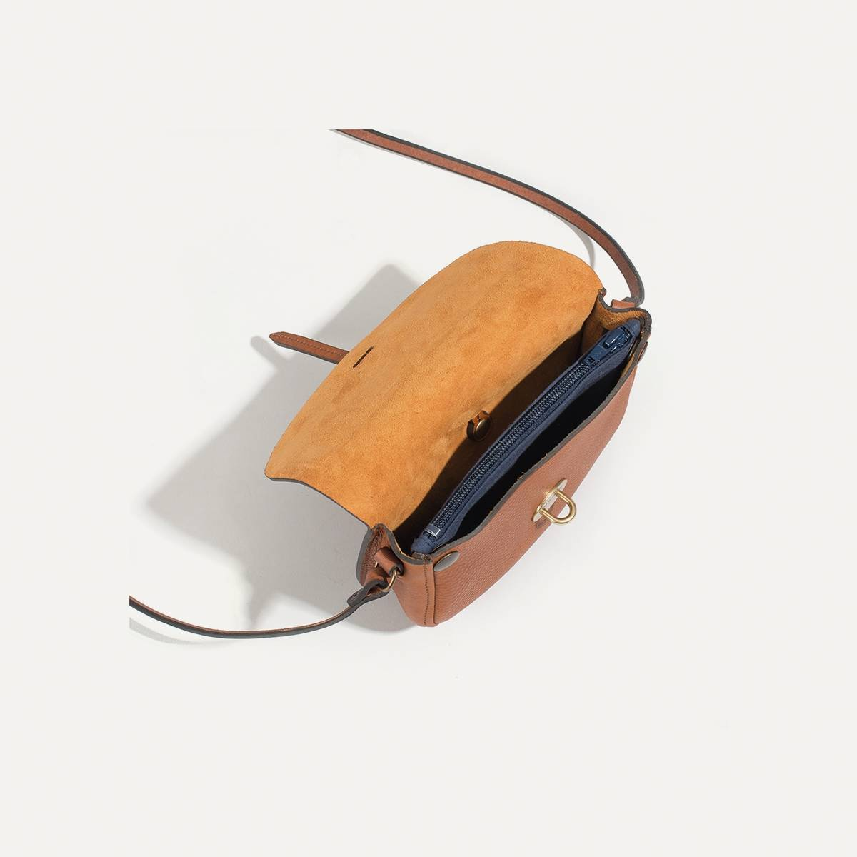 Java mini Postman bag - Pain Brûlé (image n°4)