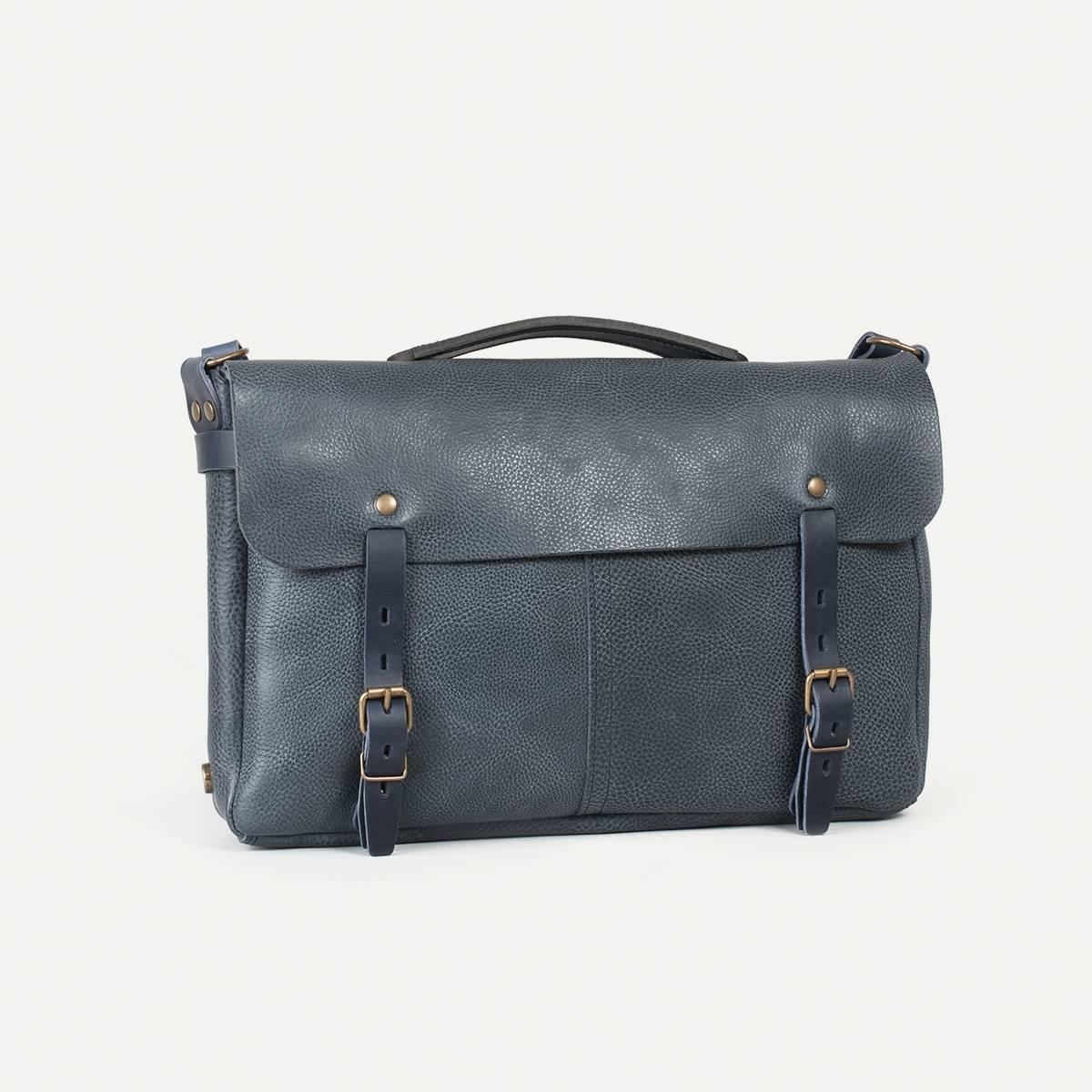 sac besace en cuir justin sac homme made in france. Black Bedroom Furniture Sets. Home Design Ideas
