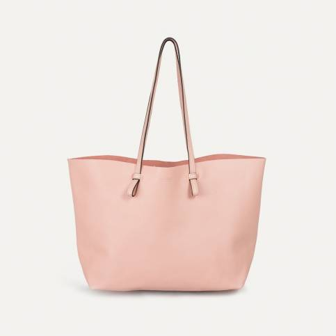 Joy Tote bag M - Powder pink