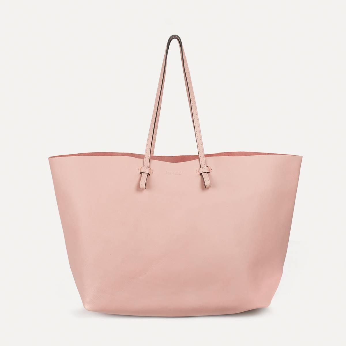 Joy Tote bag L - Powder Pink (image n°1)
