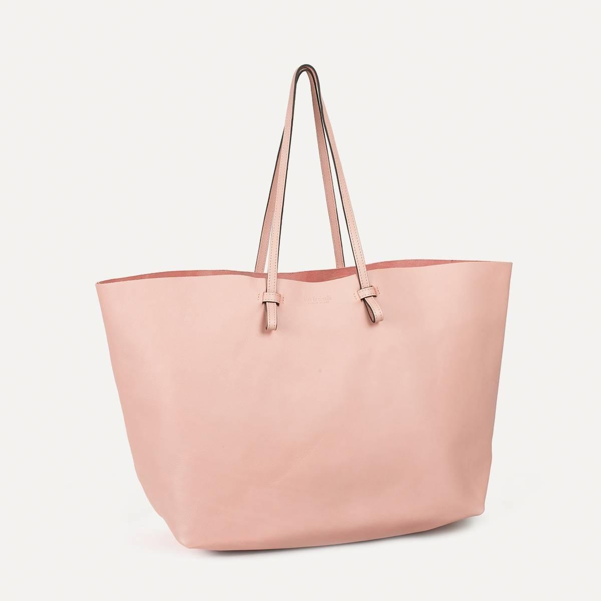 Joy Tote bag L - Powder Pink (image n°2)
