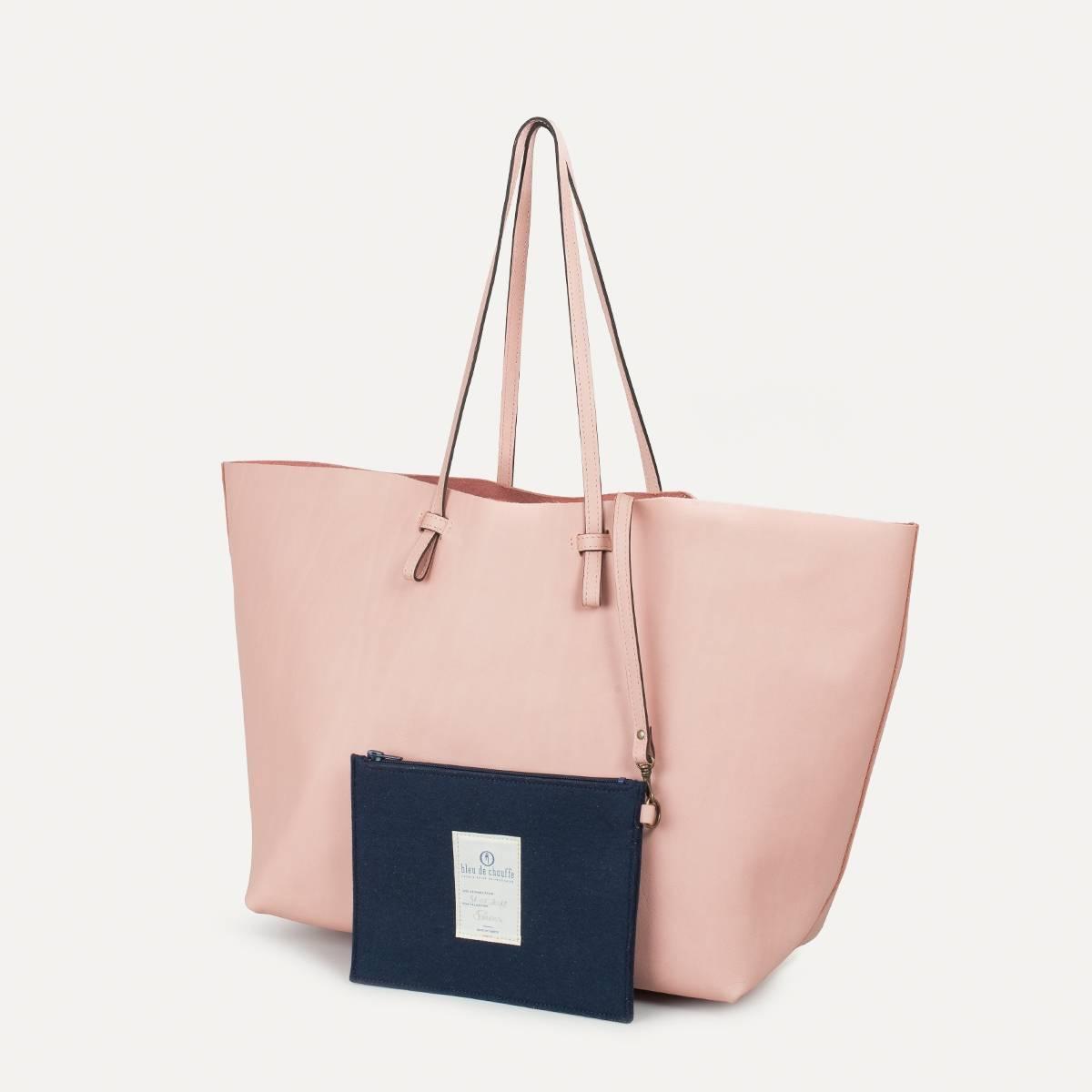 Joy Tote bag L - Powder Pink (image n°3)