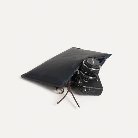 Camera Pouch Prades - Bleu de Chauffe x Olympus