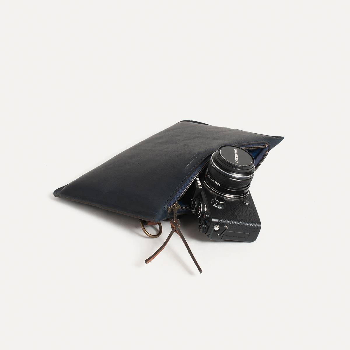 Prades Camera Pouch - Navy (image n°1)