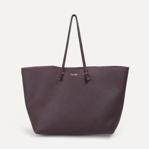 Joy Tote bag L - Beetroot