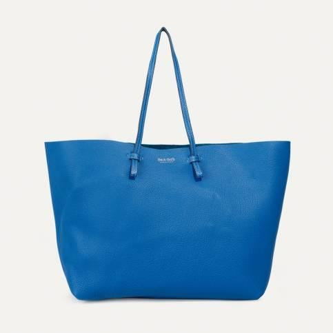 Joy Tote bag L - Blue Iris